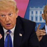 Trump again directs blame at Obama as coronavirus pandemic worsens in U.S.