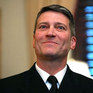 Former Trump physician Ronny Jackson: 'Wearing a mask is a personal choice'