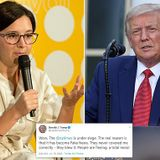 Trump says Bari Weiss resigned from NY Times because of 'fake news'
