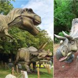 Someone is auctioning off more than 50 life-sized, animatronic dinosaurs in B.C.
