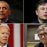 Twitter accounts of Joe Biden, Barack Obama, Elon Musk, Bill Gates, and others apparently hacked