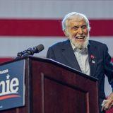 Dick Van Dyke Hams It Up At Bernie Sanders Rally, Crowd Chants 'We Love Dick'
