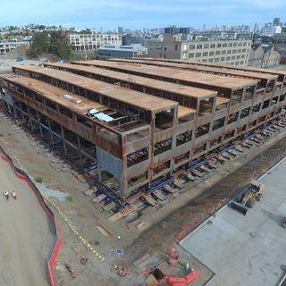 Historic San Francisco building to be lifted 10 feet due to rising sea levels