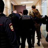 Russian police raid opposition leader Alexei Navalny's office, home