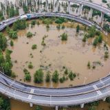 Central and southern China are being ravaged by floods