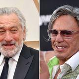 Mickey Rourke Threatens 'Punk Ass' Robert De Niro on Instagram