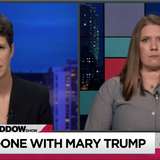 TV Ratings: Rachel Maddow Interview With Mary Trump Breaks Viewership Record