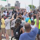 Black Lives Matter protest closes I-490