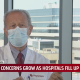 'We're actually starting to strain hospital capacity': OKC doctors warning hospital ICUs are running out of room
