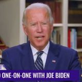 "What is Wrong with Old Joe? Biden Becomes Totally Incoherent During Interview, Says His Campaign Has ""Voter Registration Physicians"" (VIDEO)"