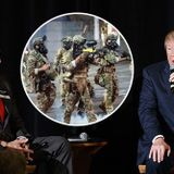 Retired Military Officers Support Trump's Actions Against Riots