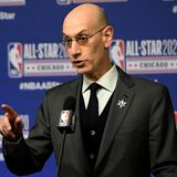 NBA Commissioner Adam Silver Maxes Out to Biden