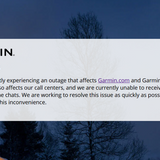 Garmin services and production go down after ransomware attack | ZDNet