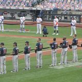 All Mets, Braves stand for national anthem on Opening Day at Citi Field