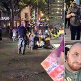 PICTURED: Armed BLM protester shot dead at Austin demonstration