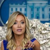 Scoop: Trump campaign kept paying Kayleigh McEnany after she was hired by the White House