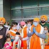 First batch of 11 Afghan Sikhs land in Delhi