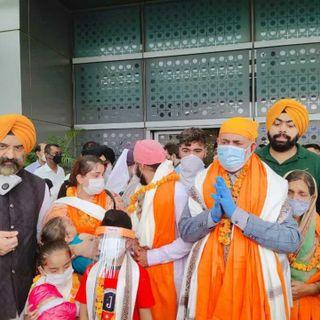 First batch of 11 Afghan Sikhs land in Delhi