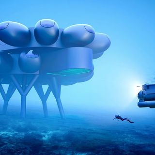 This sci-fi underwater base may soon be a reality