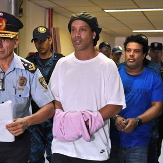 Brazilian soccer superstar Ronaldinho Gaúcho arrested in Paraguay for allegedly using fake passport to enter the country