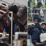 Drug addicts flock to Midtown Manhattan to deal and use drugs