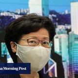Hong Kong asks Beijing to resolve legal problems with postponing elections