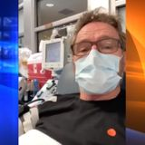 Bryan Cranston reveals he had COVID-19, shares video of himself donating plasma at UCLA center