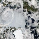 With Fires, Heat and a Cyclone, Arctic Breaks Melting Record