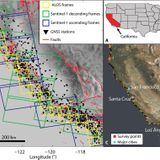 Tracking California's sinking coast from space: Implications for relative sea-level rise