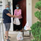 Newspaper delivery man got groceries for seniors over 900 times during pandemic