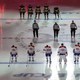 NHL hit with criticism over English-only version of 'O Canada' on Saturday | CBC Sports