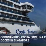 Coronavirus: 600 passengers disembarked from Costa Fortuna cruise ship as of noon, all found to be well
