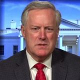 "Meadows says he's ""not optimistic"" deal on coronavirus relief will be reached in near future"