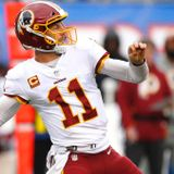 Washington's Alex Smith worked out four straight days with trainers and 'looked good,' per report