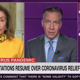 "Pelosi: Birx ""enabled"" Trump on coronavirus misinformation"