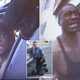 Police bodycam footage shows arrest of George Floyd for the first time