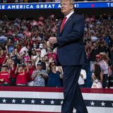 Trump approval back to 51% and supporters 70% more enthusiastic than Biden's