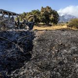 Car malfunction sparked massive Apple fire, which swells to 26,000 acres