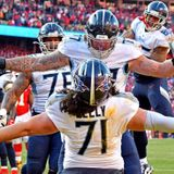 Teammates laud Titans RT Dennis Kelly's COVID-19 prevention efforts