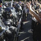 Amnesty Int'l: Police violated protesters' rights at U.S. rallies
