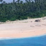 Giant SOS on Pacific island leads to rescue of stranded sailors | CBC News