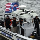 Oswega County Sheriff's Boat Joins Trump Boat Parade With Sheriff Don Hilton Onboard -- And They're Not Apologizing