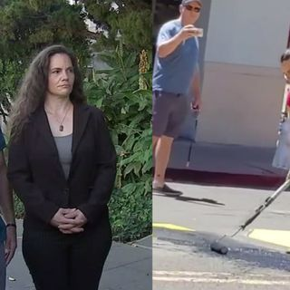'Outrageous & politicized': Martinez couple seen defacing BLM mural pleads not guilty to hate crime charge