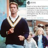 Kindergarten Cop is CANCELED for 'romanticizing over-policing kids'