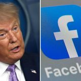 Facebook removes Trump post, citing false COVID-19 info