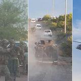 US Border Patrol raids humanitarian aid camp, seizing phones and arresting migrants