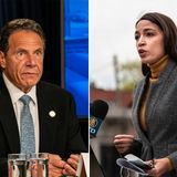 Cuomo beats back 'surprise' AOC challenge to lead NY delegation to DNC