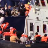 More than 100 migrants intercepted by UK authorities in English Channel