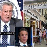 De Blasio blasts rich New Yorkers who fled city 'fairweather friends'