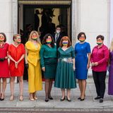 Polish MPs don rainbow colours in LGBT stunt at Duda's swearing-in